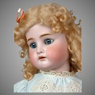 "Kammer & Reinhardt / Simon & Halbig 31"" Antique Bisque Doll with Blond Curls"