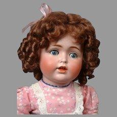"""Kestner 257 Toddler Antique Character Doll 18"""""""