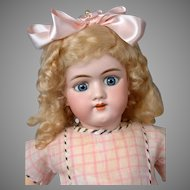 Adorable Large Handwerck 109 Antique Bisque Doll 26""