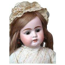 "22"" Bahr & Proschild 320 Antique Doll with Super Rare Swivel Waist Original Body circa 1900!"