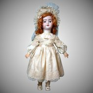 "23"" French Antique Walking and Squeaking Flirty Antique Doll by SFBJ"