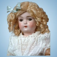 "18""Antique Kestner 171 Bisque Doll  ""Almost Daisy"" in Antique Dress"
