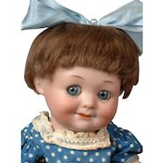 """Incredible 10.5"""" Armand Marseille 323 """"Googly"""" in Polka Dot Costume"""