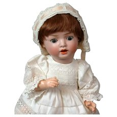 """Schoneau & Hoffmeister """"Hanna"""" Antique Bisque Character Baby Doll 12.5"""""""