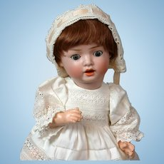 "Schoneau & Hoffmeister ""Hanna"" Antique Bisque Character Baby Doll 12.5"""