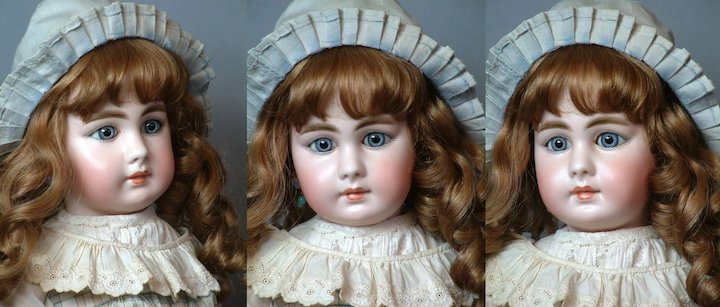 Bisque German Contemplative Antique Doll Very Cute Doll
