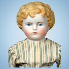 """Sweet Parian Girl with Short Hair 18"""" in Simple Cute Costume"""