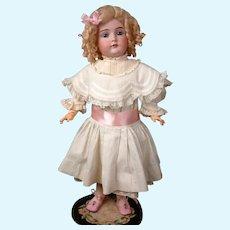 "Gorgeous Antique Kestner 174 Bisque Doll 21.5"" in Crispy Whites"