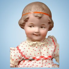 "Delightful Gebruder Character ""Coquette"" 10499 with Red Headband 9"""