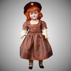 Simon & Halbig 1279  Character Antique Bisque Doll 20""