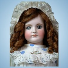 "25"" Gebruder Kuhnlens Closed-mouth Antique doll   circa 1890"