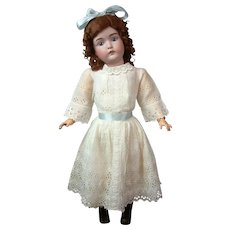 "Quintessential 30"" Kestner 171 Antique Bisque Doll on Marked Body"