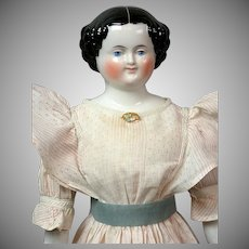 "Darling China Girl in Cute Gown 21.5"" -- A Classic China Lady!"