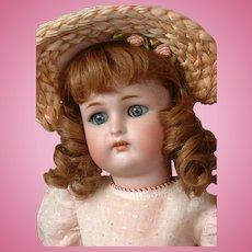 "Darling Kammer & Reinhardt / Simon & Halbig 16.5"" Antique Doll on Marked Teenage Body"