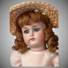 "Darling Kammer & Reinhardt / Simon & Halbig 16.5"" Antique Doll on Marked Teenage Body"