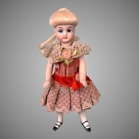 """Precious Simon & Halbig 5"""" Mignonette in Delightful Costume"""