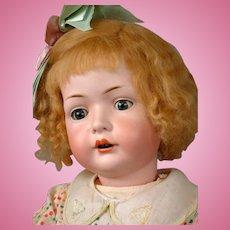 "Exceptional Bahr & Proschild / Bruno Schmidt Antique Character Toddler 28.5"""