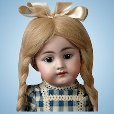 "Darling Simon & Halbig 1009 DEP 16"" Antique Bisque Doll"