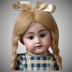 "Darling Simon & Halbig 1009 DEP 16"" Antique Bisque Doll"