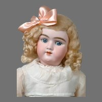 "Beautiful Heinrich Handwerck 109 24.5"" Antique Bisque Doll"