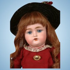 "Adorable Kammer & Reinhardt 192 Antique Bisque Child Doll 13.5"" in Original Costume"