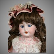Darling Simon & Halbig 1009 DEP Antique Child Doll 19""