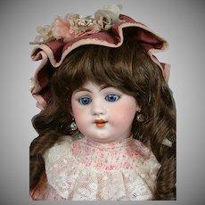 "Darling Simon & Halbig 1009 DEP Antique Child Doll 19"""