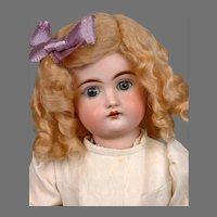 "14"" Kestner Antique Bisque Child Doll with Blond Wig"