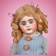"""Bahr & Proschild 204 Antique Bisque Child Doll with Exceptional Eyes 14.5"""""""