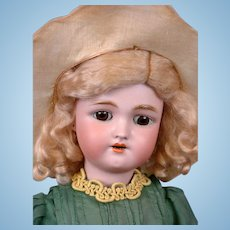 "Precious ""Daisy"" by Handwerck / Halbig Antique Bisque Child Doll 18"""