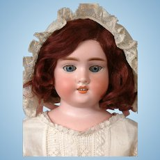 Precious Kley & Hahn 1600 Antique Child Doll on Kid Body with Compo Arms and Legs 18.5""