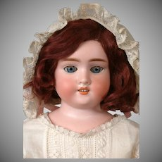 """Precious Kley & Hahn 1600 Antique Child Doll on Kid Body with Compo Arms and Legs 18.5"""""""