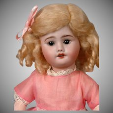 """SFBJ Petite 11.5"""" Antique Bisque Doll """"Bleuette-Type"""""""