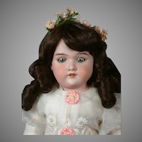 "Beautiful ""Floradora"" Antique Bisque Doll by Armand Marseille 20"""