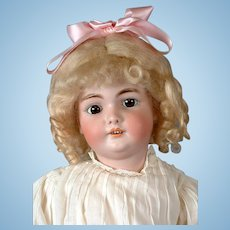 "CM Bergmann 24"" Antique Bisque Child Doll on Exceptional Body -- What an Angel!"