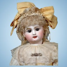 """My Sunshine"" 21"" Rare  All Original French Bebe by Rabery & Delphieu circa 1890"