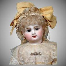 """My Sunshine"" 21"" Rare  All Original French Bebe by Rabery & Delphieu circa 1890"