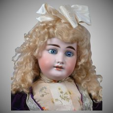 """25.5"""" Antique DEP Doll by Gebruder Kuhnlenz for the French Trade"""