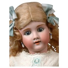 """Incredible Handwerck Halbig Antique Child Doll 31.5"""" in White"""