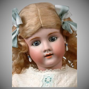 "Incredible Handwerck Halbig Antique Child Doll 31.5"" in White"