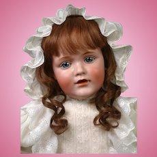 """25"""" Kestner 241 Toddler Known as Hilda's Big Sister on Rare Original Kestner Body"""