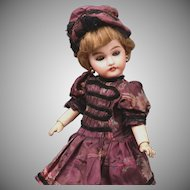 "Museum Worthy 12"" Petite ""Mon Cherie"" by Louis Prieur-- All Original French Bebe"