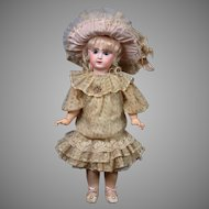 "22"" Size 10 French Tete Jumeau Bebe All Antique Doll"