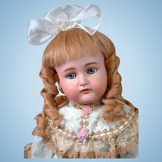 "Kammer & Reinhardt / Simon & Halbig Antique Bisque Doll 30"" in Presentation Gown"