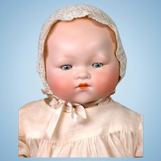 "Sweet Armand Marseille ""Dream Baby"" Antique Character Doll 20"""