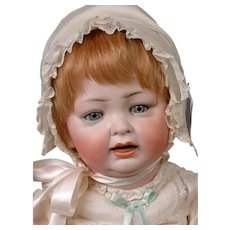 Darling Hertel & Schwabb 152 Antique Character Baby 21""