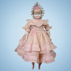 "Adorable 14.5"" Emma Clear Bonnethead Doll Circa 1948-1955"