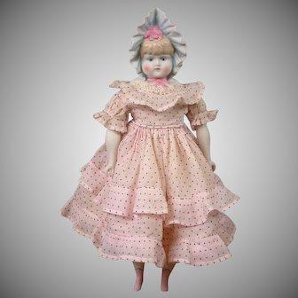 "Adorable 14.5"" Emma Clear Bonnethead Doll Circa 1948-1955"