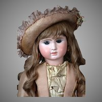 "Big 29"" Steiner ""Le Parisien"" Antique French Bebe Doll circa 1890"