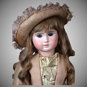 "Big 29"" Steiner ""Le Parisien"" Antique French Bebe Doll circa 1890"